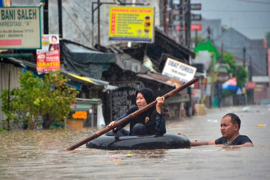Indonesian flood