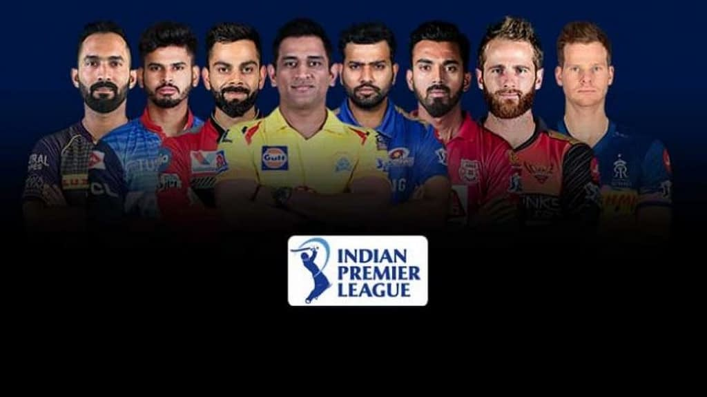 IPL team captains for the 2020 edition.