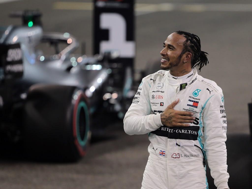 British driver and six time Formula one World champion Lewis Hamilton